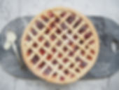 Strawberry & Rhubarb Pie