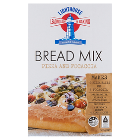 Lighthouse Breadmix Pizza and Focaccia 500g