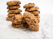Chunky Oat & Raisin Cookies