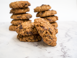 Chunky Oat & Raisin Cookies