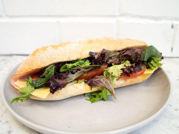 Ham & Salad Roll