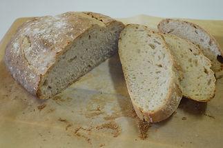 No-Knead 100% Sourdough Bread