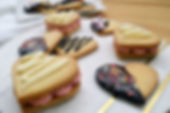 Heart-Shaped Shortbread Cookies
