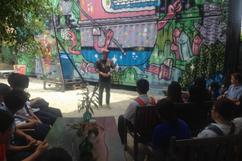 Mural talk / workshop