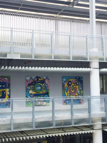 Murals installed