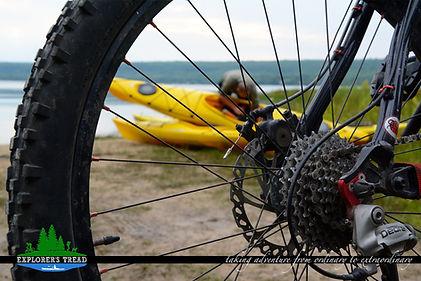 Kayak and Bike