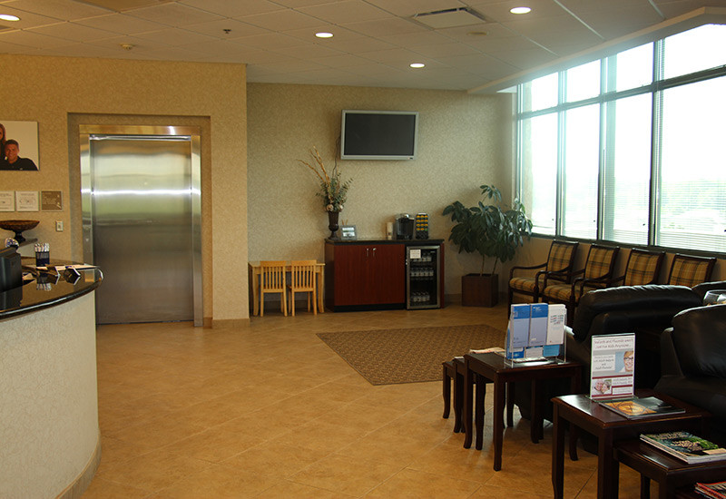 Leawood Dental Reception