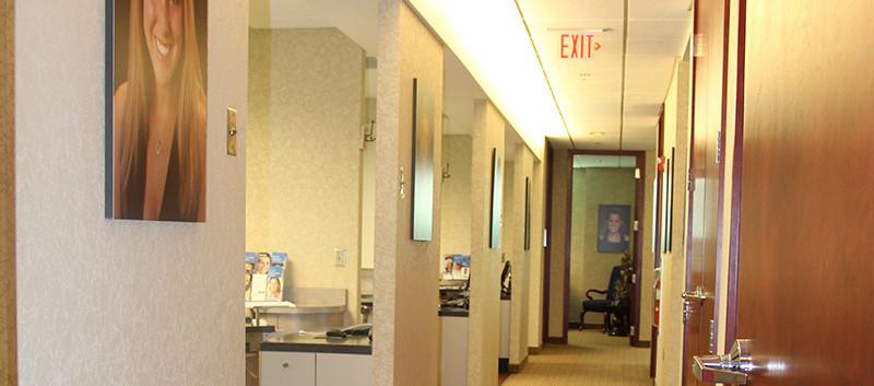 Leawood Dental Hallway