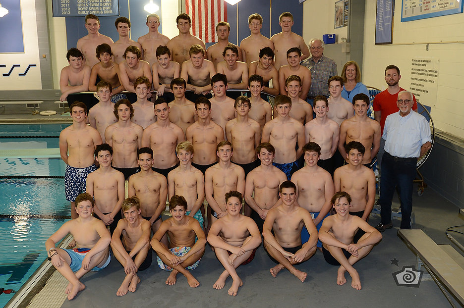 SME Boys Swim and Dive Team
