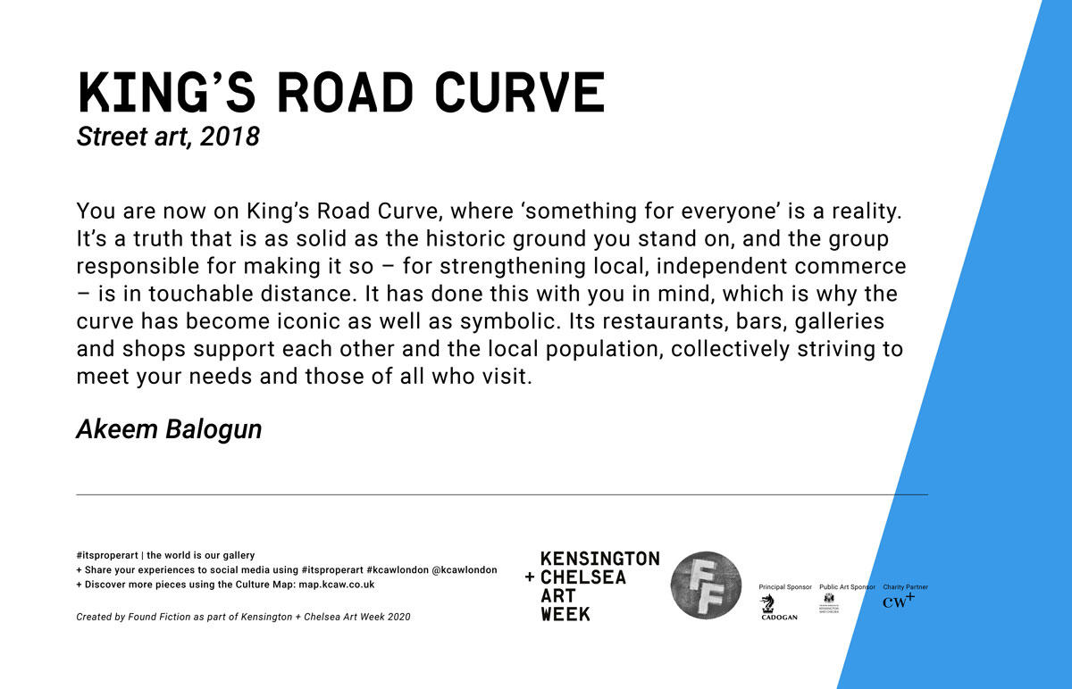 KING'S ROAD CURVE