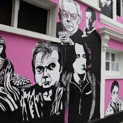 CHELSEA ARTISTS WALK BY CHELSEA ARTS CLUB