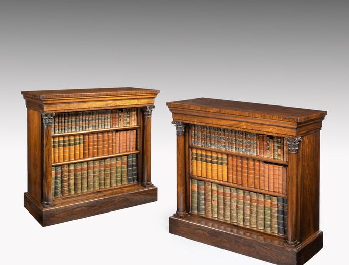 Regency bookcases