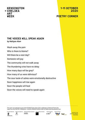 NAHIYAN ALAM | THE VOICES WILL SPEAK AGA