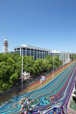 Fantasy of Exhibition Road by Ian Davenport