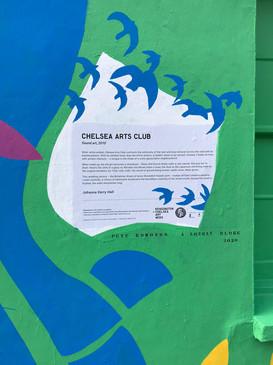 Found Fiction x Chelsea Arts Club