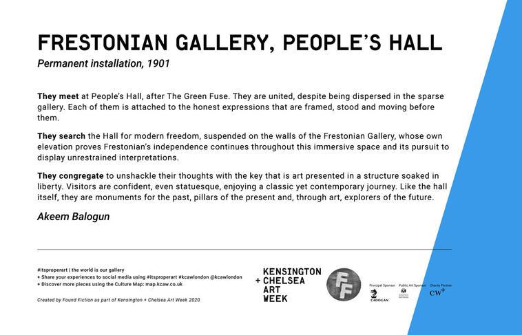 FRESTONIAN GALLERY | POEOPLE'S HALL