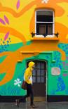 Chelsea Arts Club Winter Mural