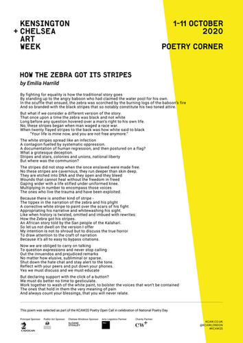 EMILIA HARRILD | HOW THE ZEBRA GOT ITS S