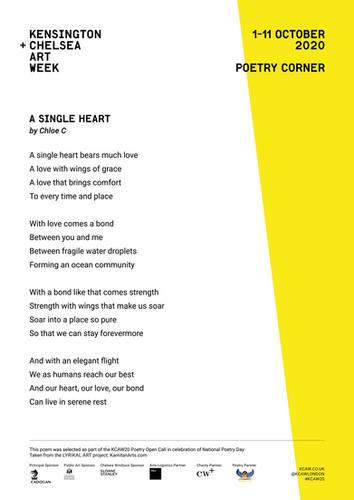 CHLOE C | A SINGLE HEART