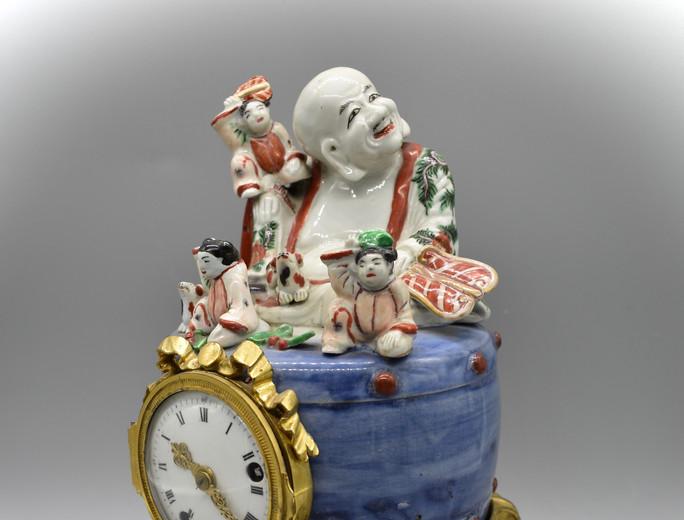 Hotei mounted as clock