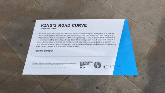 Found Fiction x King's Road Curve