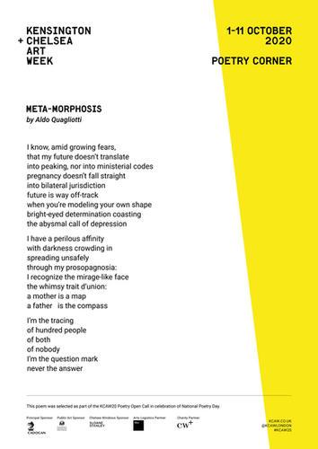 ALDO QUAGLIOTTI | META-MORPHOSIS