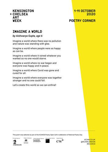 AISHWARA GUPTA | IMAGINE A WORLD