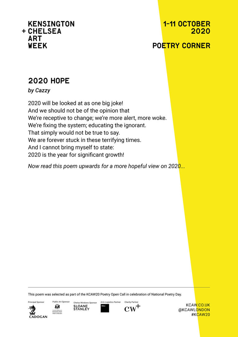 CAZZY | 2020 HOPE