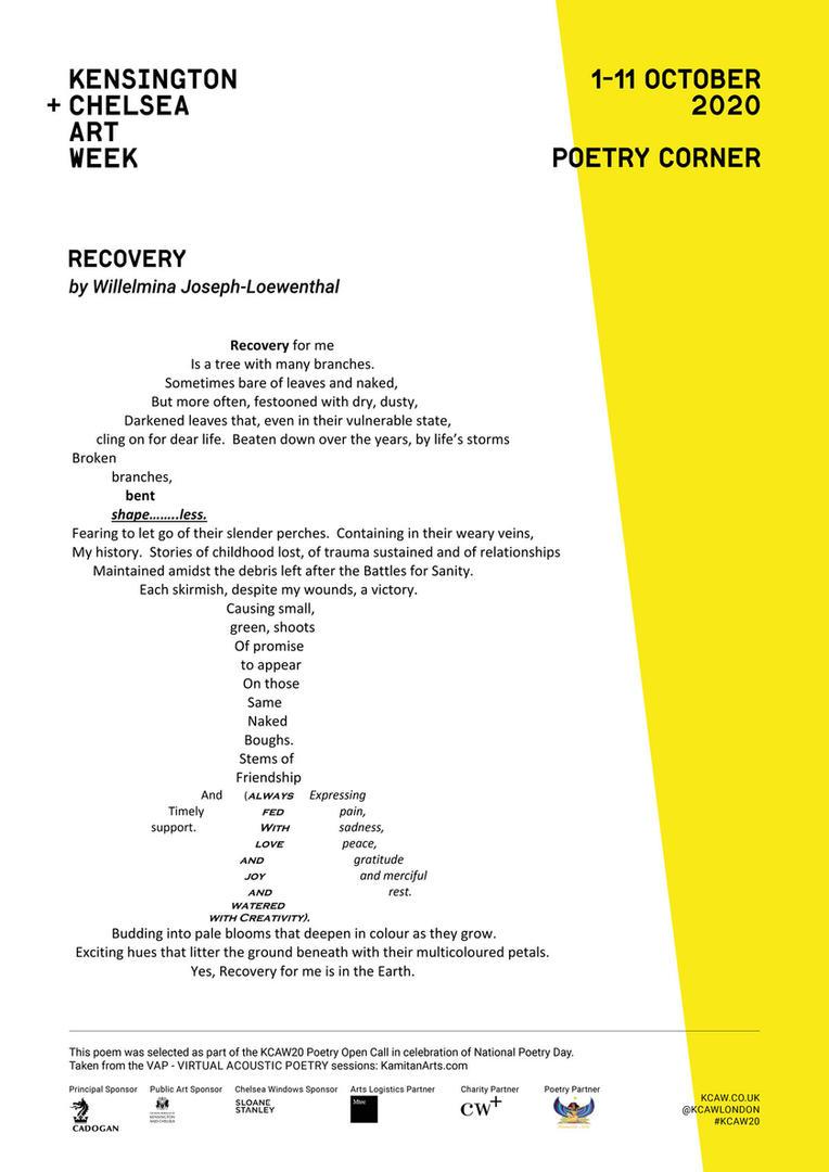 WILLELMINA JOSEPH-LOEWENTHAL | RECOVERY.