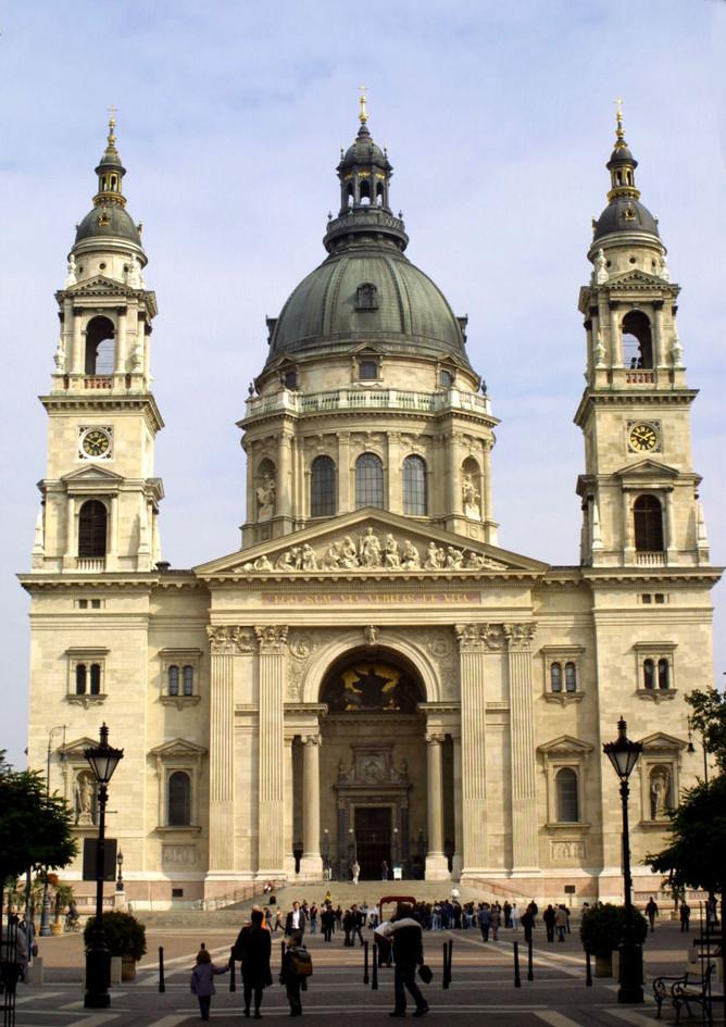 St Istvan's Basilica Budapest travel photography