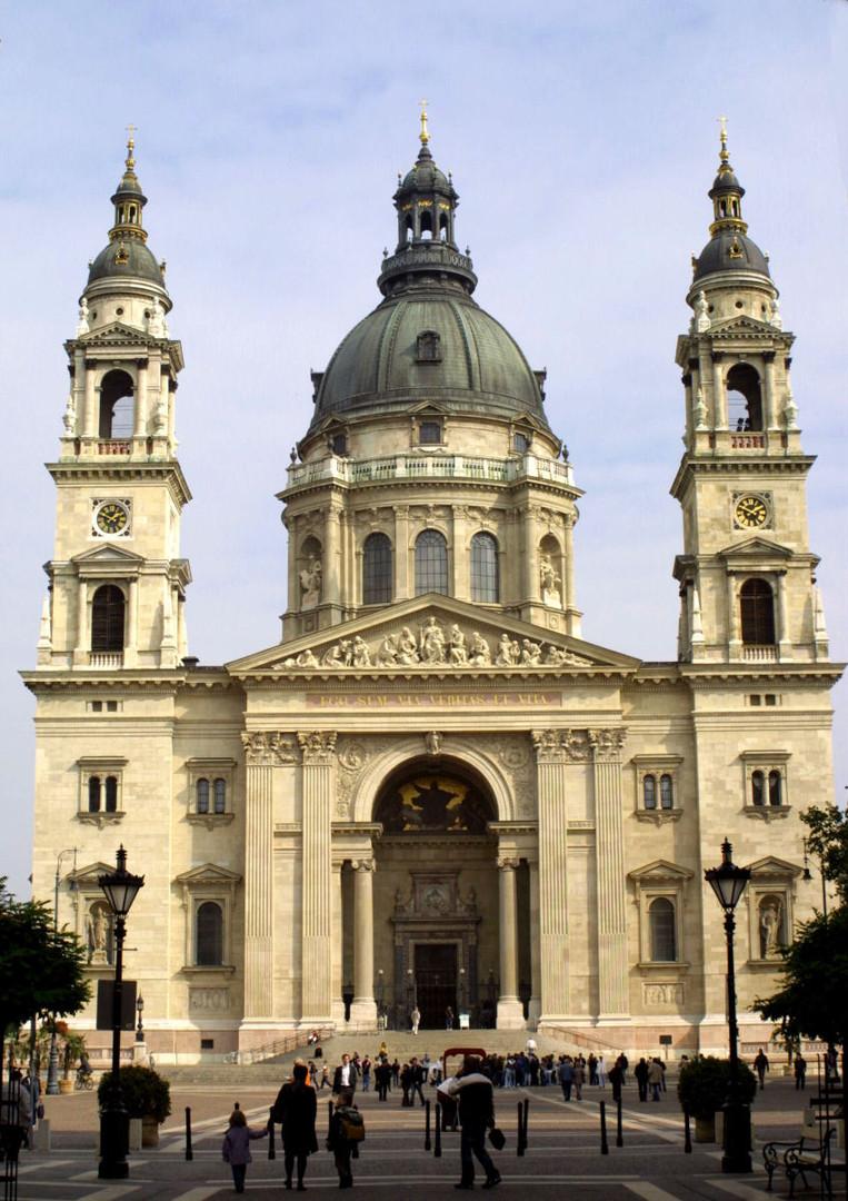 St Istvan's Basilica - Budapest