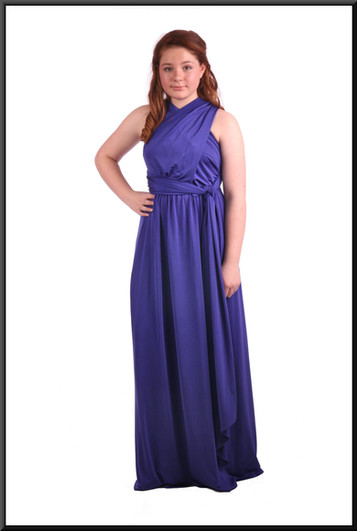 """royal blue, size 10; model height 5'4"""""""