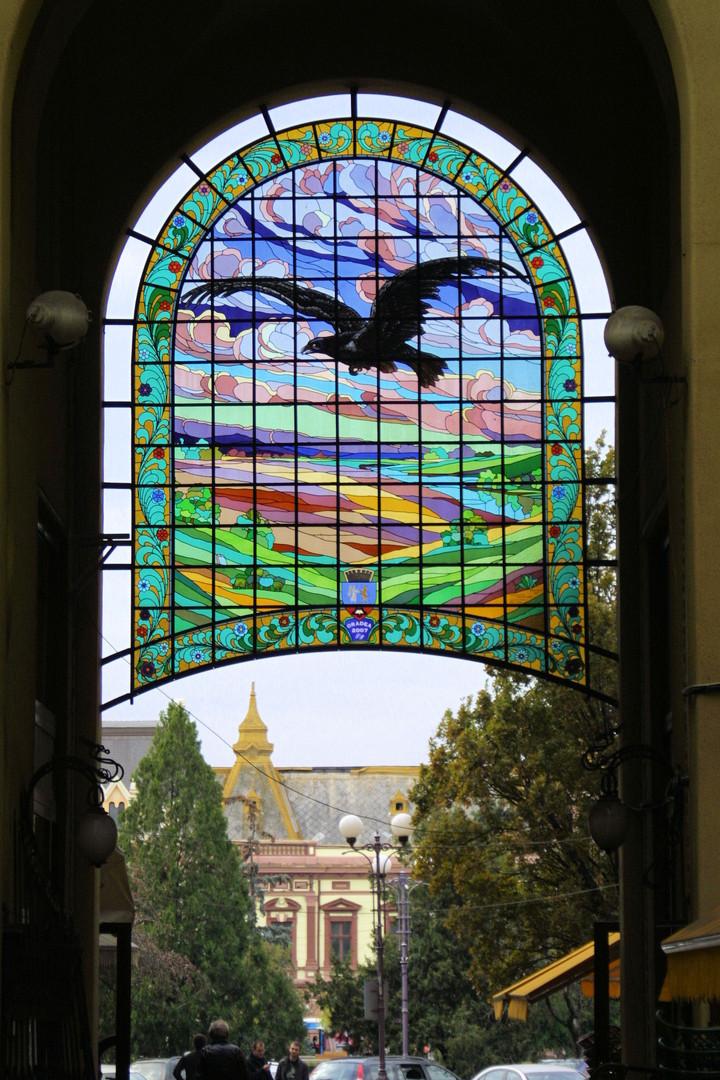 Millenial Window, Oradea, Romania