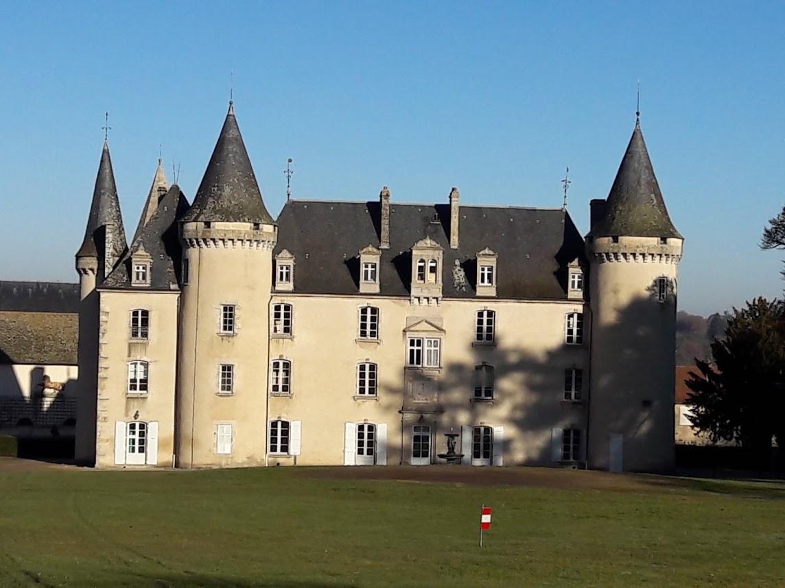 Nexon Chateau - Haute-Vienne, France