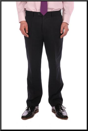 Men's mid grey pinstripe business trousers 34 waist 31 inside leg - grey