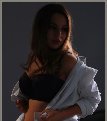 Maternity boudoir - Gemma