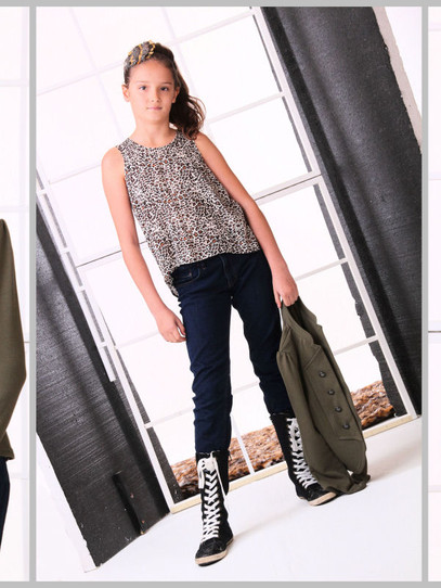 Teen model folio