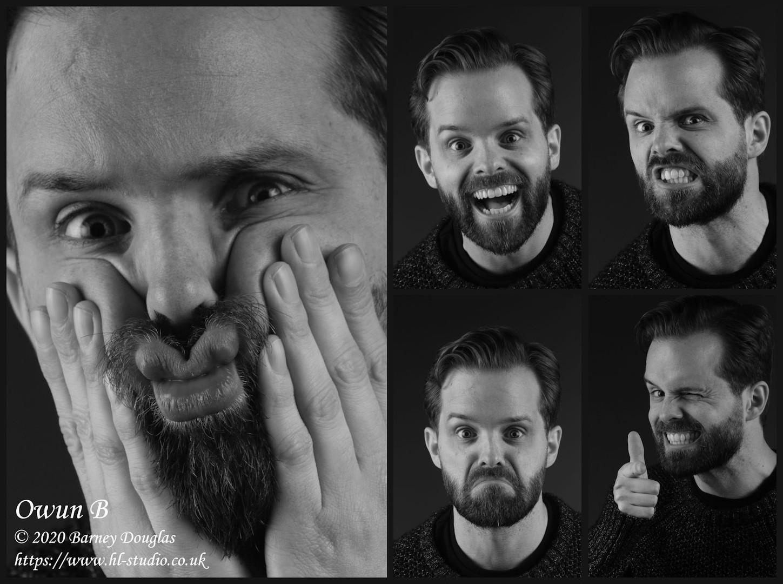 Owun Birkett acting posrtfolio headshots
