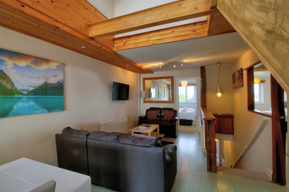 Private holiday let interior