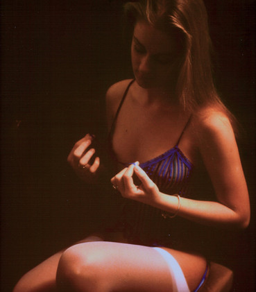 Helen - boudoir image dating from 1984