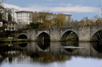 Pont St Etienne, River Vienne, Limoges, France