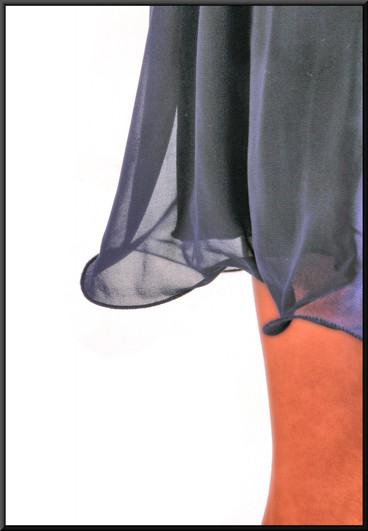 "Single strap mini dress, size 8 in royalblue. Model height 5'11"""