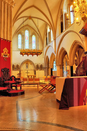 Portsmouth Anglican Cathedral interior