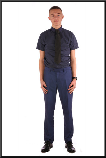 Men's trousers W 32 I 31 regular - cobalt blue