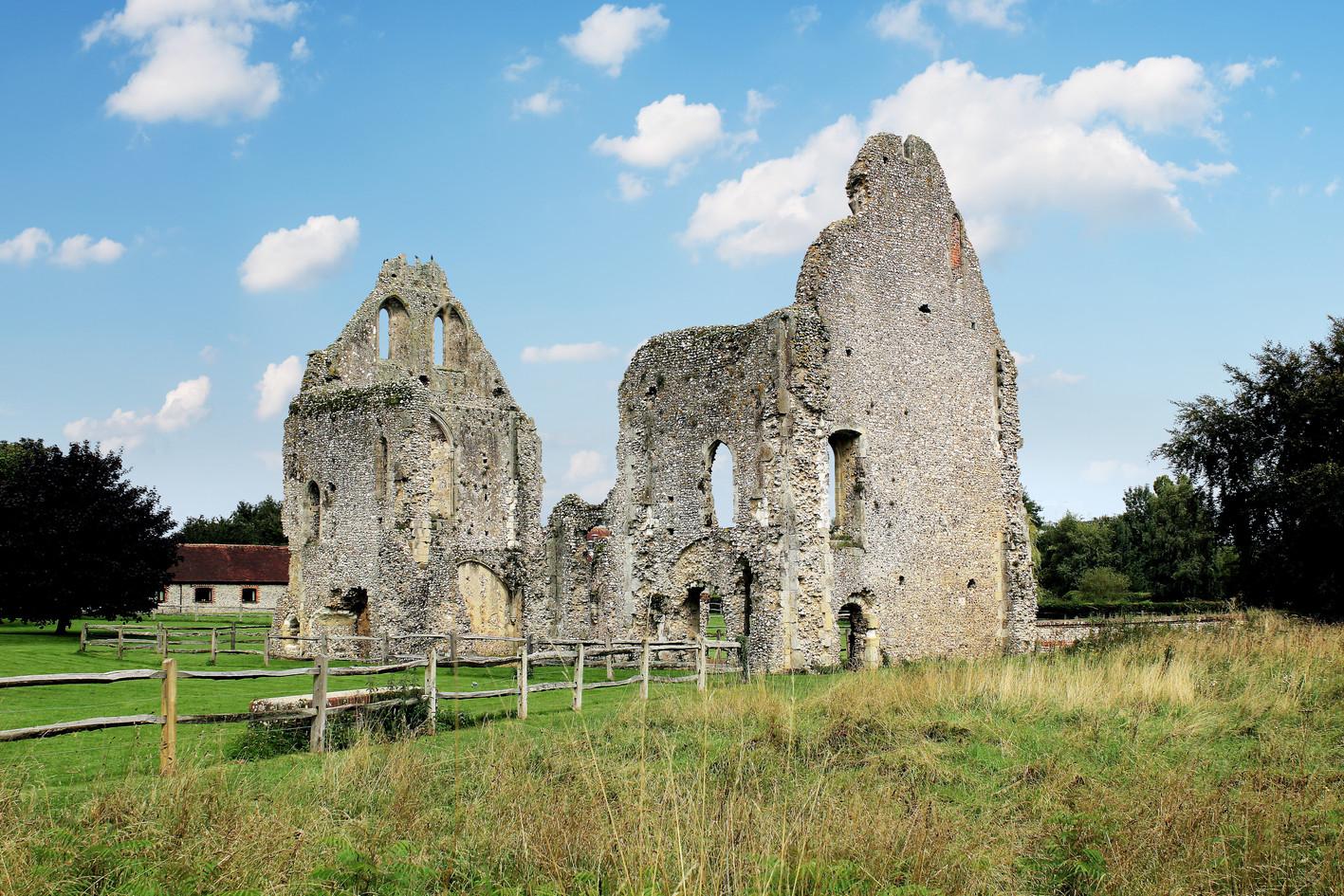 Travel image - Boxgrove Priory ruins