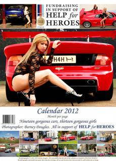 Help for Heroes fund raising calendar