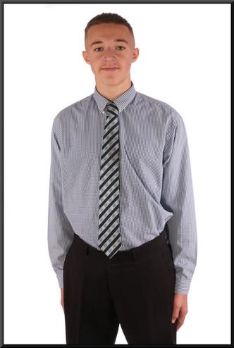 Men's shirt collar 16.5 slim-fit