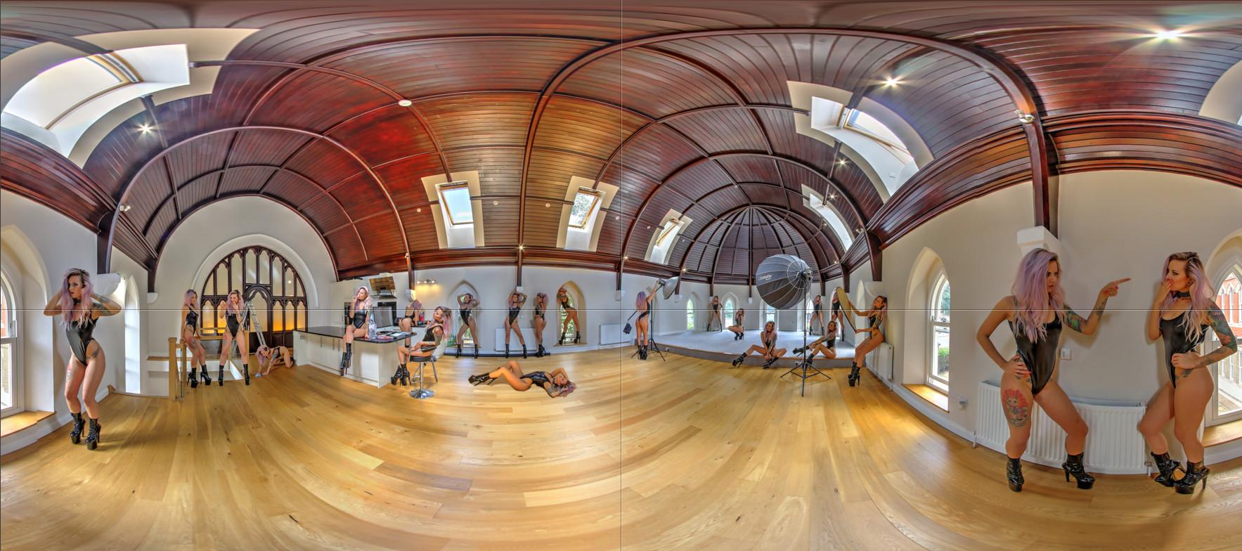 Unique virtual tour photography