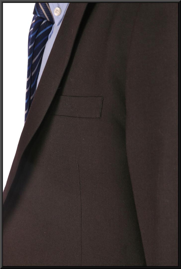 "Jacket only – dark navy blue jacket chest 38 regular. Model height 6'0"""