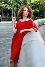 Location fashion shoot - evening wear